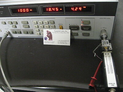 Hp8970a Anritsu N346b Meter Noise Source Works Enr Excess Noise Ratio Set