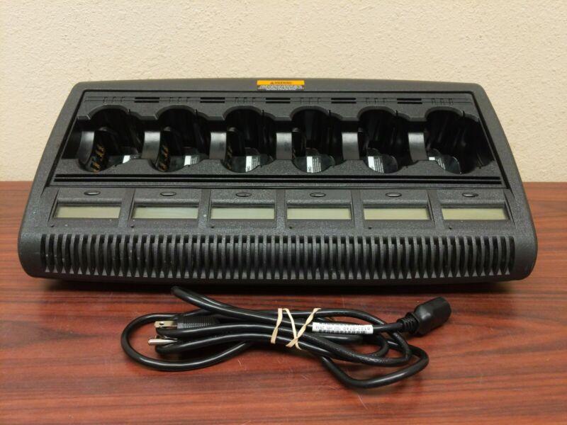IMPRES 6 bay Motorola Charger VER. 3.4 w/ LCD Displays XTS3000 XTS5000 XTS2500