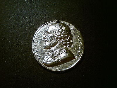 1818 William Shakespeare French Durand Series Numismatica Natus Medal