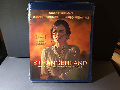 New  Strangerland Blue Ray Disc With Nicole Kidman    Widescreen