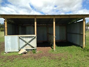 Horse stable/shelter Bobs Farm Port Stephens Area Preview