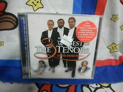 The Three Tenors The Best Of The 3 Tenors The Great Trios CD BRAND NEW (The Three Tenors The Best Of The 3 Tenors)