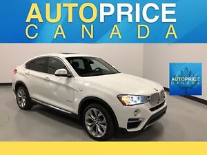 2016 BMW X4 xDrive28i NAVIGATION|PANOROOF|LEATHER