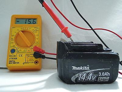 MAKITA Batteria 14,4 volts 3,0 Ampere LITIO usato  Italia