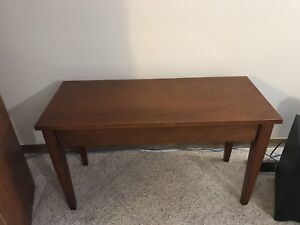 Piano Bench/Bedside Table