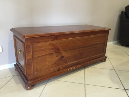 Wooden Toy or Storage Box Appin Wollondilly Area Preview