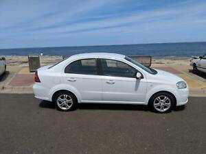 2011 White Holden Barina - Clean and Very Low KMs
