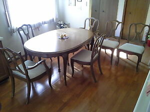 Dining Room Set--Unique, Solid Wood; Table, Buffet & Hutch