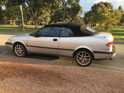 1996 Saab 900s Convertible, 4sp Automatic