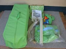 FisherPrice Deluxe Rainforest Travel Cot *&* sheets *&* protector Panorama Mitcham Area Preview