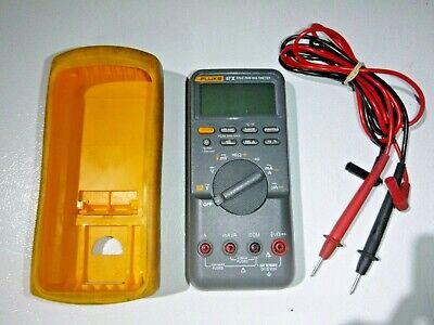 Fluke 87v True Rms Digital Multimeter W Protective Case Leads