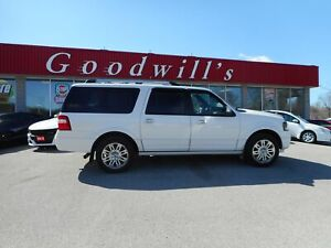 2013 Ford Expedition Max LTD! HEATED/COOLED LEATHER SEATS! ROOF