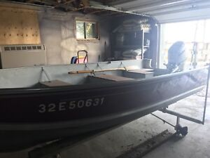 14' Lund with 25HP Honda Four Stroke