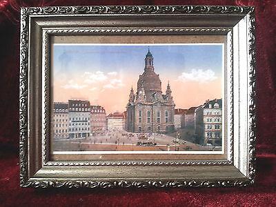 BILDERRAHMEN ANTIK SILBER, Schwarz m. Glasscheibe, 13x18 Rahmen Fotorahmen