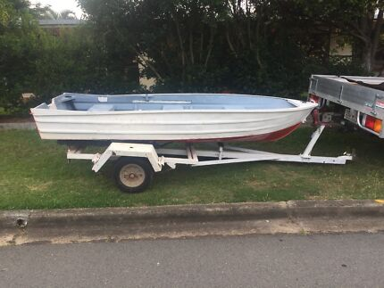 12 ft tinny with trailer