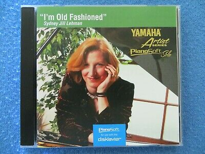 "Used, Yamaha Disklavier PianoSoft Piano Solo ""I'm Old Fashioned "" Floppy Disk    for sale  Glendale"