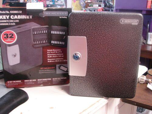 FireKing Hercules 32 Key Cabinet Lock Box Steel Drop KK0803-32 2 Keys New