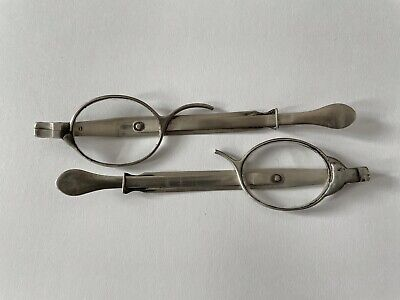 Antique Spectacles Antique Silver Eyeglasses 19th Century Hallmarked England