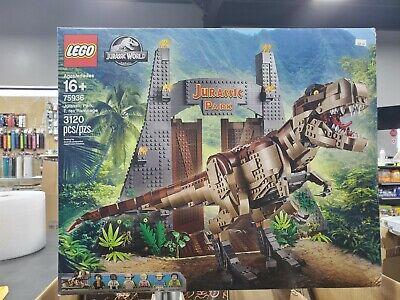 Jurassic Park - T. Rex Rampage 75936 - NIB Sealed - Hard to Find