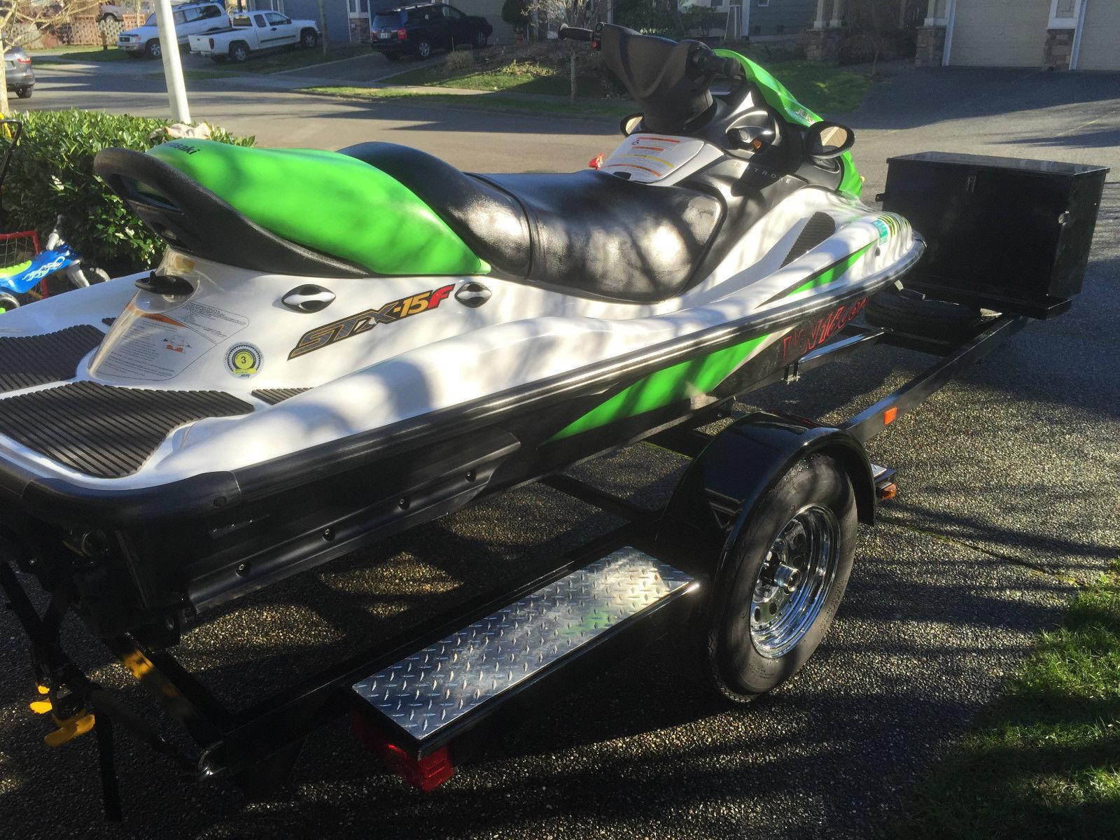 Kawasaki Jet Ski Stx  F Oil Change