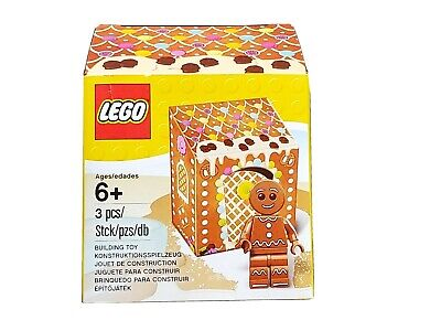 2016 LEGO Seasonal GINGERBREAD MAN Minifig Set 3pc 5005156 NEW Sealed NiB