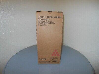 Genuine Ricoh Savin Lanier Mp C7501 C9075 Ld375c Magenta Print Cartridge New