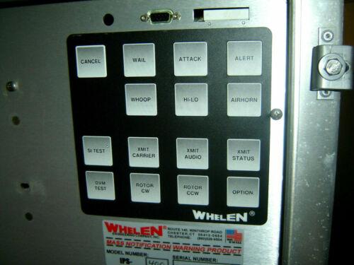 Whelen IPS-400, 400 watt Siren Driver, Firehalls, Fairgrounds & Industry...NOS