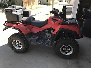06 can am 800 max
