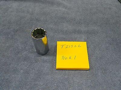 """Cornwell T2132L 3/8 dr x 1"""" Deep Socket NEW"""