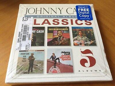 Johnny Cash - 5 Original Album Classics [5 CDs Boxset] Hymns Brand New & Sealed