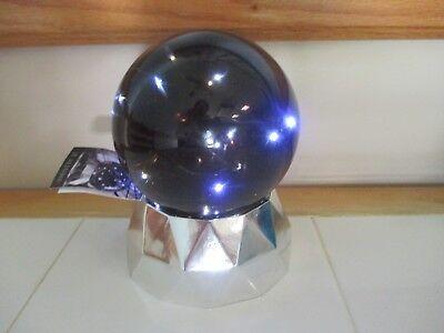 k HALLOWEEN Black Water Snow Globe LED Lghted Fairy Lights (Manor Halloween)