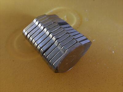 12 Pcs Large Neodymium Strong Rare Earth Hard Drive Magnets