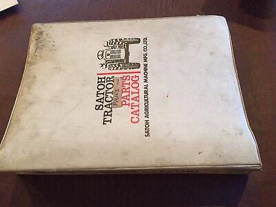 Satoh S-630 630 Tractor Repair Service Manual Book Mitsubishi Beaver