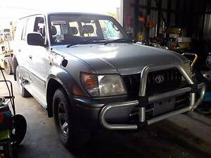 WRECKING / DISMANTLING 1998 TOYOTA PRADO GXL  3.4L 5 SP MANUAL North St Marys Penrith Area Preview