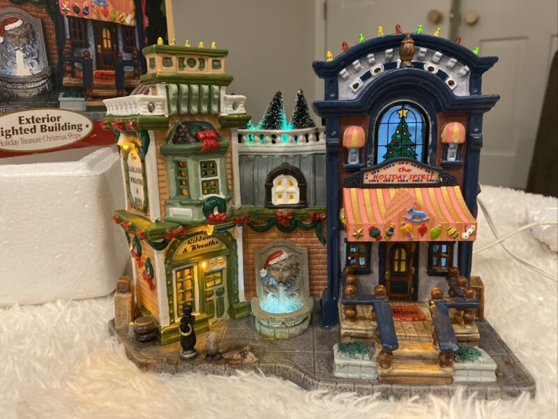 Lemax Carole Towne Collection Holiday Treasures Christmas Shops 55254