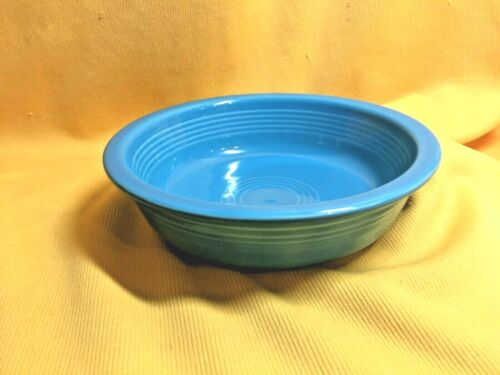 "Fiesta Ware 7"" Coupe Cereal Bowl- ""Peacock Blue"""