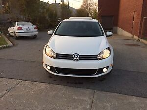 VOLKSWAGEN GOLF 2013 WOLFSBURG EDITION 63000 AUTOMATIC BLUETOOTH