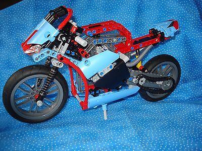 Lego Technic Street Motorcycle 42036 Used Boys Girls 9