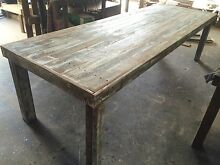 Reclaimed Hardwood Indoor or Outdoor Dining Table Brendale Pine Rivers Area Preview