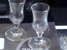 LIQUEUR GLASSES - SET OF 6 Macquarie Fields Campbelltown Area Preview