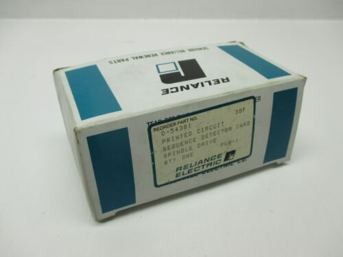 Reliance 054381 Sequence Detector Card