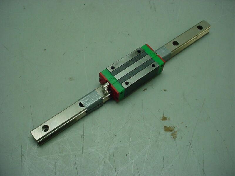 HIWIN HG20 CNC LINEAR RAIL & BALL BEARING/BLOCK/SLIDE 340MM L X 20MM W
