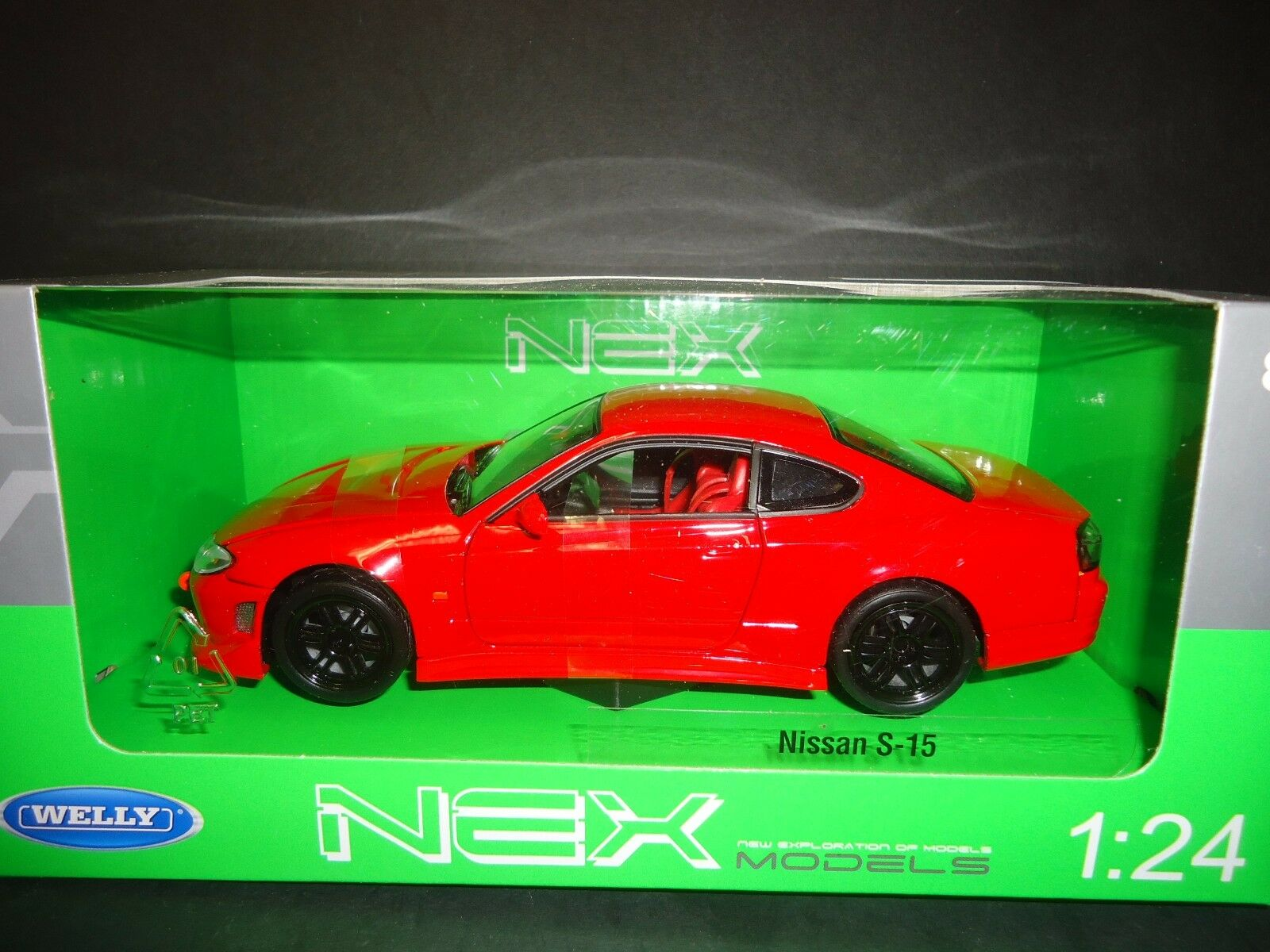 Welly Nissan Silvia 240sx S 15 Diecast Car Red Mimbarschool Com Ng