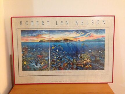 """Robert Lyn Nelson """"Molokini Fantasy"""" Epping Ryde Area Preview"""