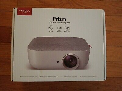 NEW Anker Nebula Prizm LED Home Projector, 5W Speaker, 480P HDMI 2210