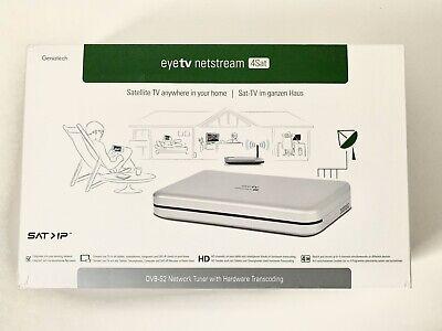 Geniatech EyeTV Netstream 4Sat, DVB-S2 Netzwerk Tuner für Sat na sprzedaż  Wysyłka do Poland