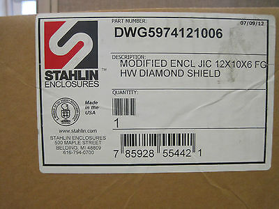 Stahlin Diamond Shield Enclosure Ds121006hw Pr1769