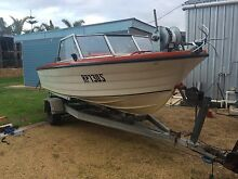 BOAT FOR SALE , Savage escort , oil injected 1996 115hp Yamaha The Pines Yorke Peninsula Preview