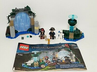 Lego Pirates of the Caribbean Fountain of Youth Set 4192, Not Complete