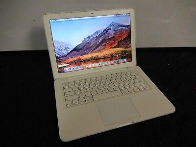 "Apple MacBook 13"" 2010 EMC2395 Core 2 Duo 2.4 4GB RAM 320GB HDD Mac OS X 10.13"